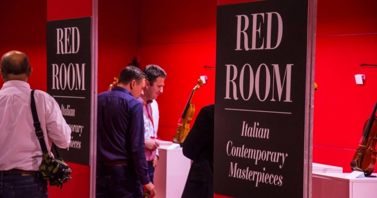 Red Room: the best of Italian contemporary lutherie