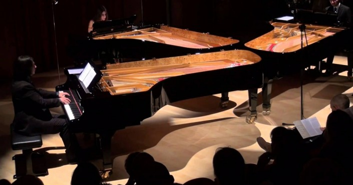 Fazioli Piano Festival - The Pianos Trio