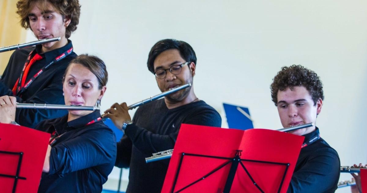 Masterclass - Public Reharsal Flute Orchestras