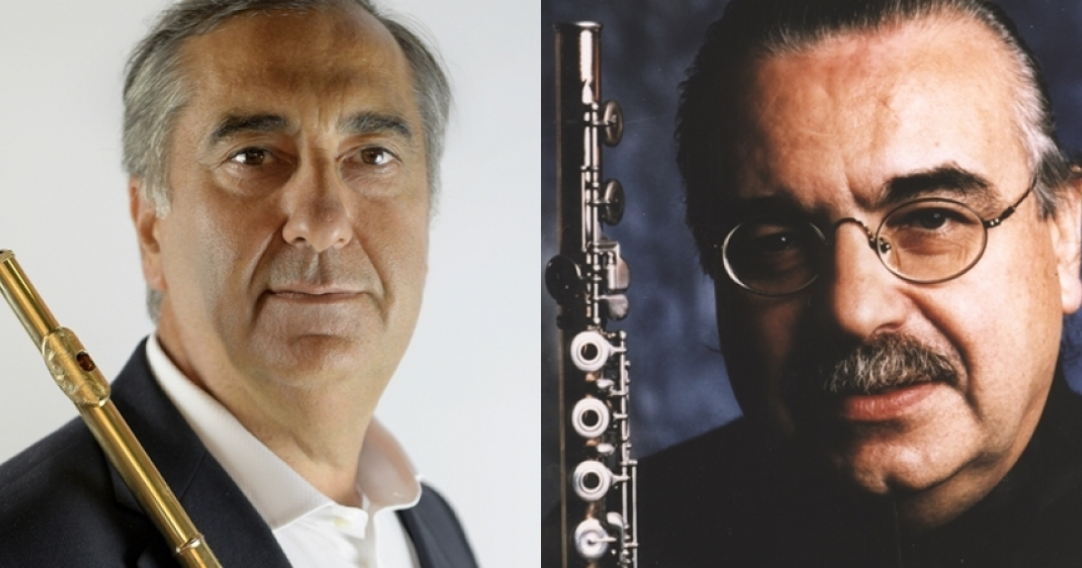 SMIM Day - Seminar on flute and didactic, for both teachers and students, by M° Salvatore Lombardi and M° Jean-Claude Gérard
