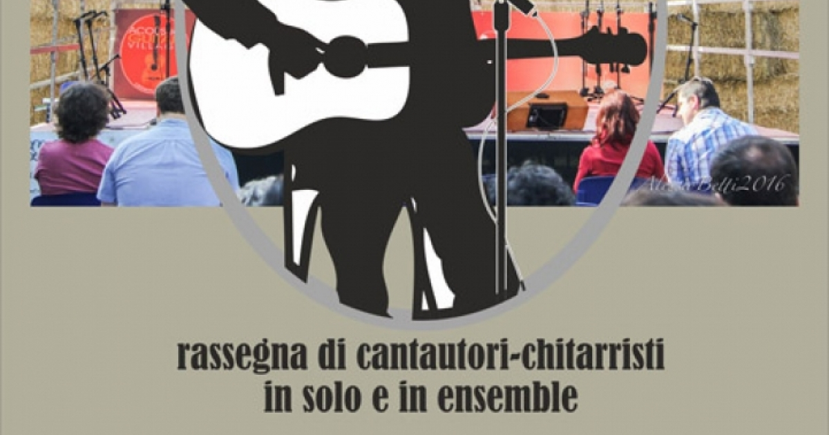 """Voci & Corde d'Autore"", show of italian songwriters"