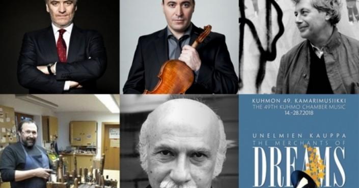 Cremona Musica Awards: Maxim Vengerov, Alessandro Baricco, Kuhmo Chamber Music Festival