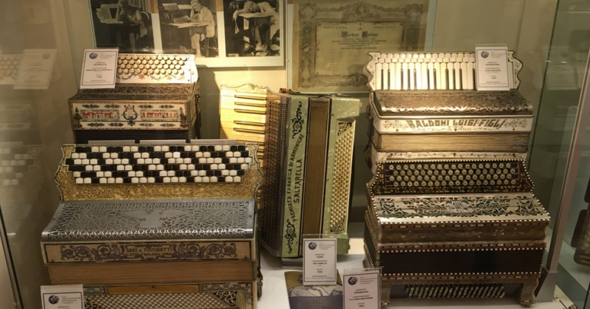 "Historical exhibition ""The accordions of the Museum of Castelfidardo"""