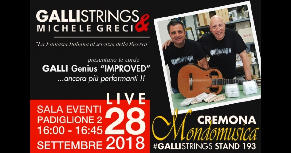 "Galli Strings & Greci Guitar, ""Italian fantasy at the service of research"""