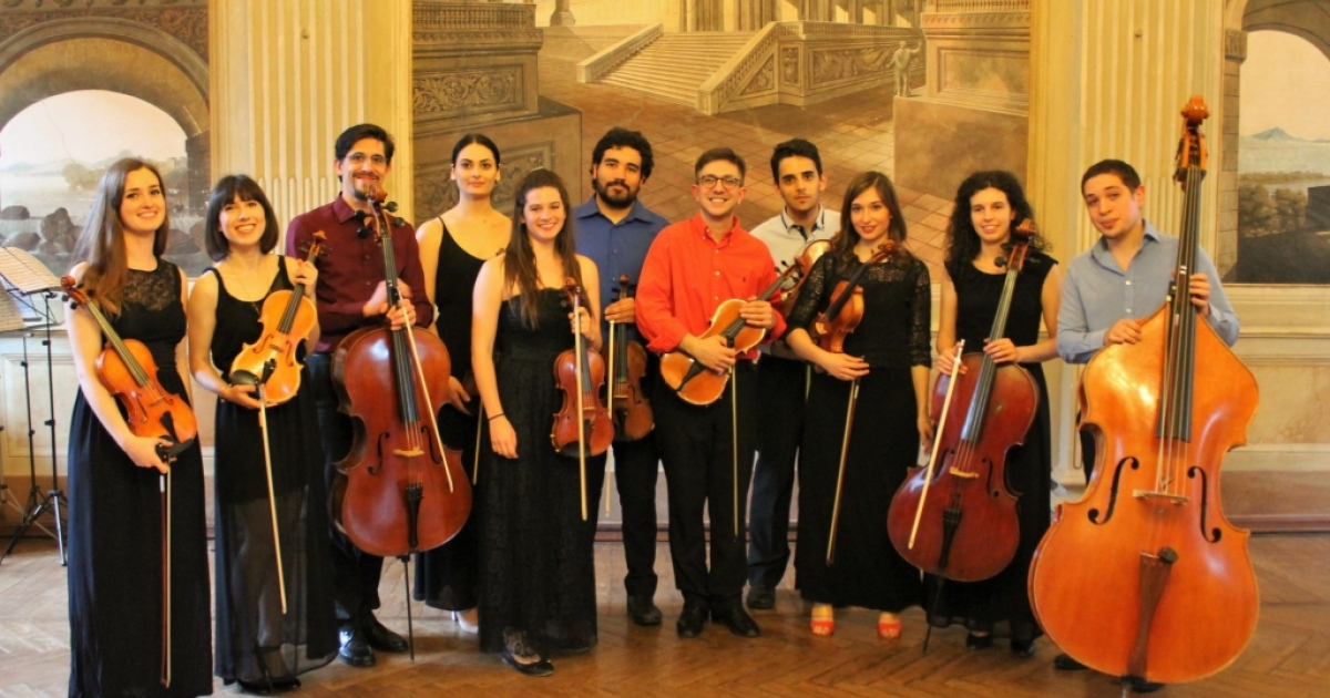 "Grand opening of Cremona Musica 2018, with the string orchestra ""Galimathias Ensemble"""