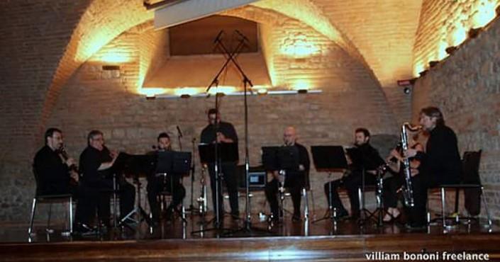 Il coro di clarinetti - Concerto di Nubilaia Clarinet Ensemble