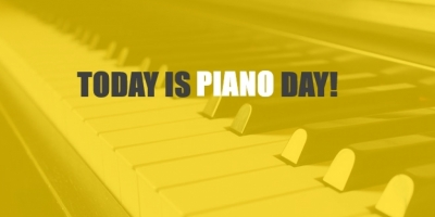 Today is piano day!