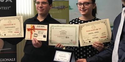 """Kristel Kraja and Federico Nogarotto win the contest """"La musica è gioia"""""""