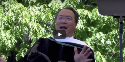 "Yo-Yo Ma's inspiring commencement speech: ""Be humans before musicians"""