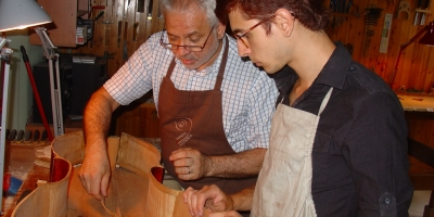 Massimo Negroni's advice to young luthiers