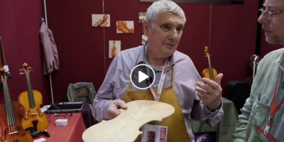 VIDEO: the Belgian luthier Luc Deneys and his comeback in Cremona after 45 years